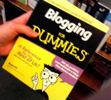 blogging-for-dummies
